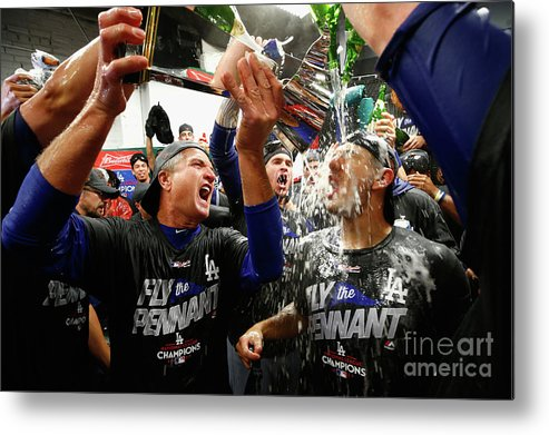 Championship Metal Print featuring the photograph League Championship Series - Los 7 by Jamie Squire