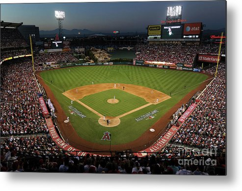 Atmosphere Metal Print featuring the photograph 81st Mlb All-star Game by Michael Buckner
