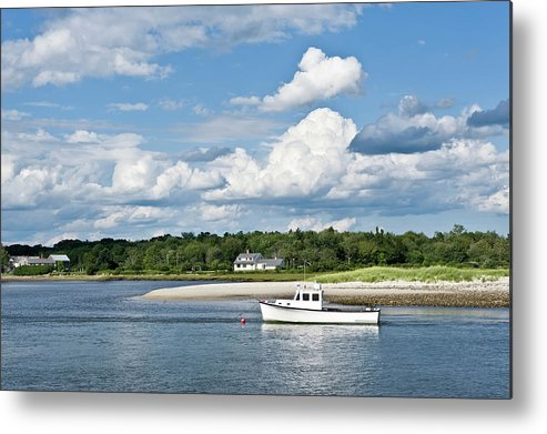 Scenics Metal Print featuring the photograph Coastal Scenic by Easybuy4u