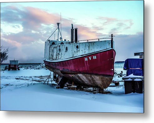 Rvh Metal Print featuring the photograph 017 - Dry Dock by David Ralph Johnson