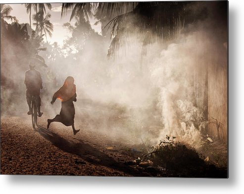 Still Life Metal Print featuring the photograph Morning Activities by Dan Mirica