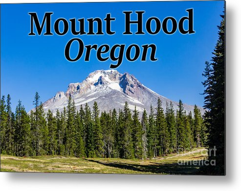 Mount Hood Metal Print featuring the photograph Mount Hood Oregon In Fall by G Matthew Laughton