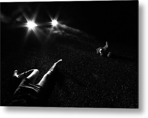 Mystery Metal Print featuring the photograph Noir by Andreja
