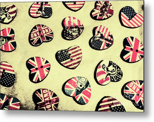 Flag Metal Print featuring the photograph Patriotic Picks by Jorgo Photography - Wall Art Gallery