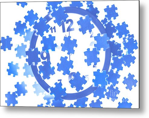 Clock Metal Print featuring the photograph Quick Jig by Jorgo Photography - Wall Art Gallery