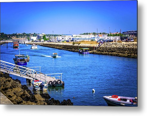 Coast Metal Print featuring the photograph Ribeira De Bensafrim by Borja Robles