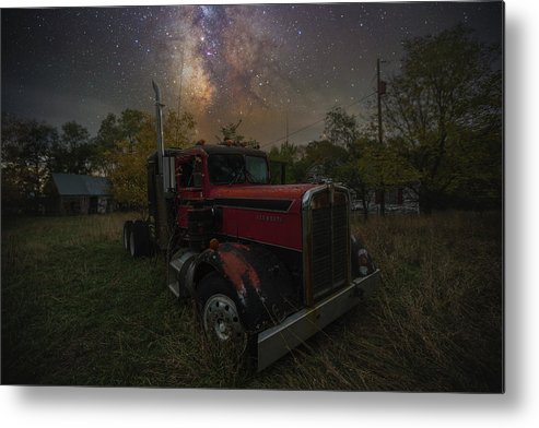 Truck Metal Print featuring the photograph Rusty by Aaron J Groen