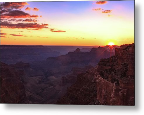 Arizona Metal Print featuring the photograph Twilight In The Canyon by Rick Furmanek