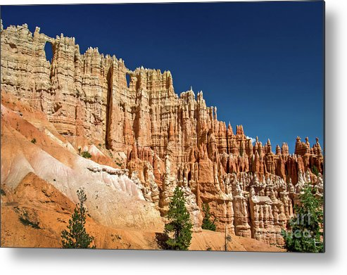 Bryce Canyon Metal Print featuring the photograph Wall Of Windows by Delphimages Photo Creations
