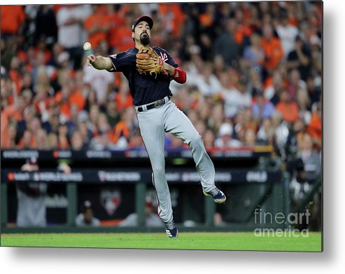 American League Baseball Metal Print featuring the photograph Anthony Rendon by Elsa