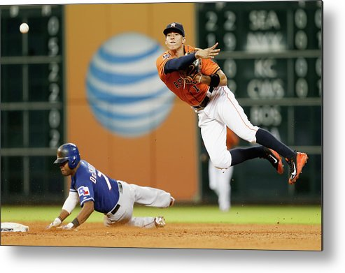 People Metal Print featuring the photograph Delino Deshields by Bob Levey