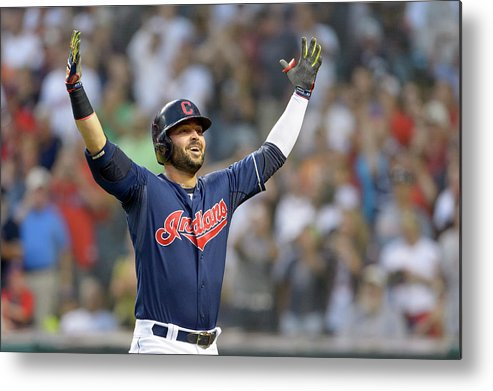 American League Baseball Metal Print featuring the photograph Nick Swisher by Jason Miller