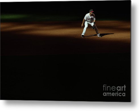 Mother's Day Metal Print featuring the photograph Paul Goldschmidt by Christian Petersen