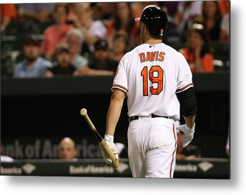 Three Quarter Length Metal Print featuring the photograph Chris Davis by Patrick Smith