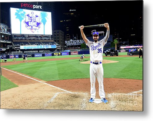 People Metal Print featuring the photograph Eric Hosmer by Harry How