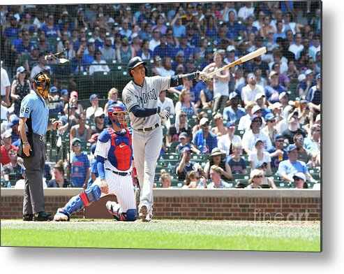 People Metal Print featuring the photograph Manny Machado by David Banks