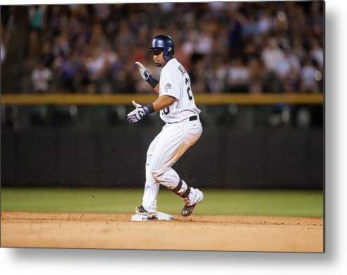 Celebration Metal Print featuring the photograph Wilin Rosario by Dustin Bradford