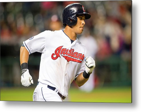 People Metal Print featuring the photograph Michael Brantley by Jason Miller
