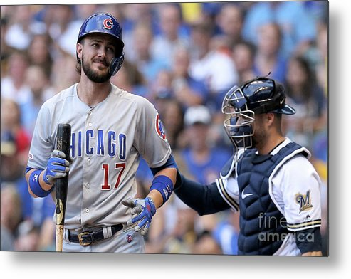 People Metal Print featuring the photograph Kris Bryant by Dylan Buell