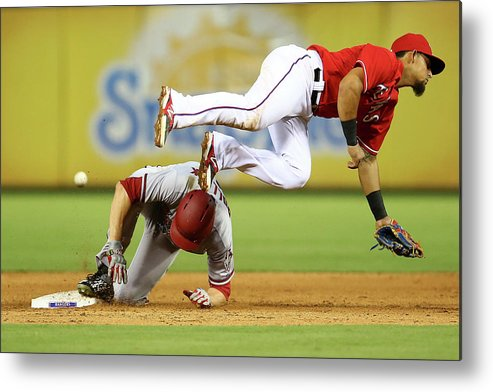 People Metal Print featuring the photograph A. J. Pollock by Sarah Crabill