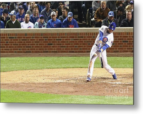 People Metal Print featuring the photograph Anthony Rizzo by Dylan Buell