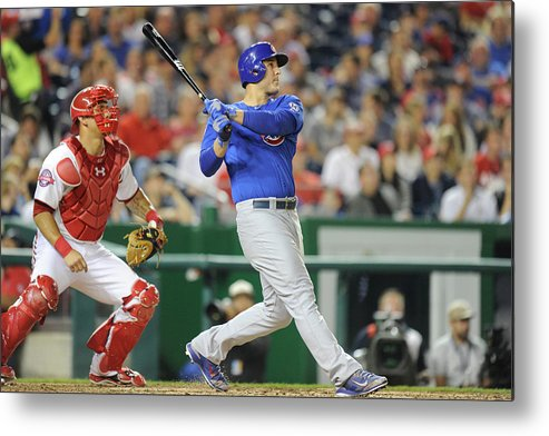 People Metal Print featuring the photograph Anthony Rizzo by Mitchell Layton