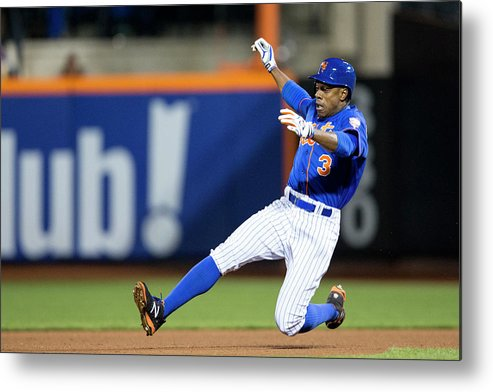American League Baseball Metal Print featuring the photograph Curtis Granderson by Taylor Baucom