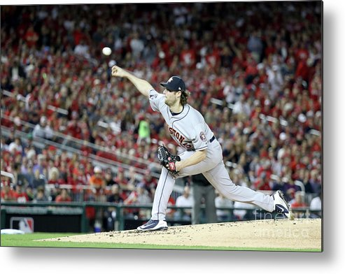 American League Baseball Metal Print featuring the photograph Gerrit Cole by Rob Carr