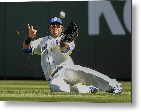 People Metal Print featuring the photograph Nelson Cruz by Otto Greule Jr