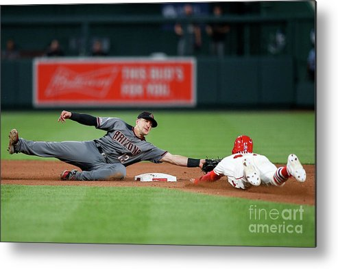 People Metal Print featuring the photograph Nick Ahmed by Scott Kane