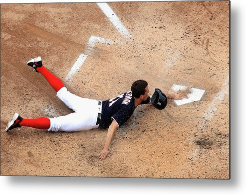 People Metal Print featuring the photograph Ryan Zimmerman by Rob Carr