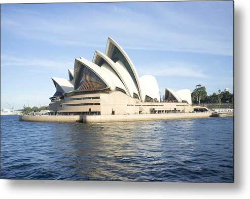 Lifestyles Metal Print featuring the photograph Sydney Opera House by Amer Ghazzal