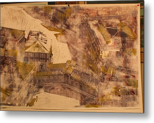 Metal Print featuring the print Rialto Bridge by Biagio Civale