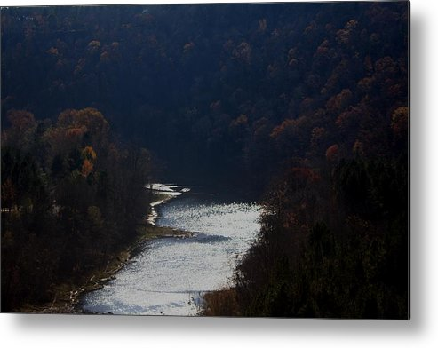Landscape Metal Print featuring the photograph Little Red River by Lisa Johnston