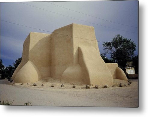 Church Metal Print featuring the photograph San Francisco De Taos by Lynard Stroud