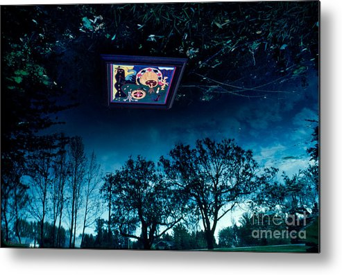 Patrickwey Metal Print featuring the photograph Film Creations-native by Patrick Wey