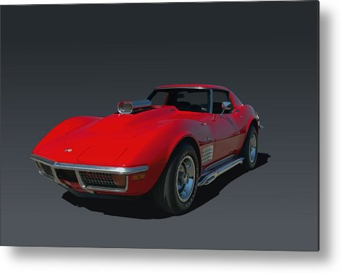 1970 Metal Print featuring the photograph 1970 Chevrolet Corvette 454 Stingray by Tim McCullough