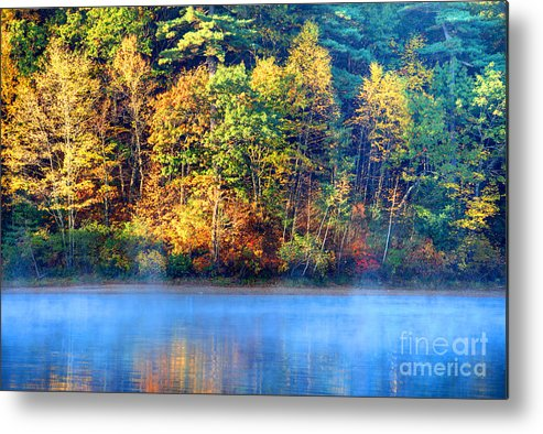 Walden Pond Metal Print featuring the photograph Walden Pond by Denis Tangney Jr