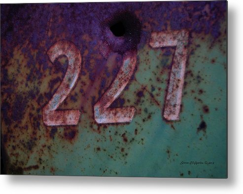 Farming Metal Print featuring the photograph 227 by Steven Clipperton