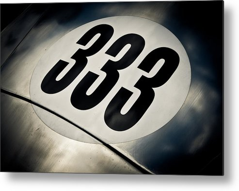 Numer Three Metal Print featuring the photograph 333 by Phil 'motography' Clark
