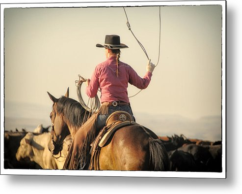 Metal Print featuring the photograph 7296 by Mary Williams Hyde