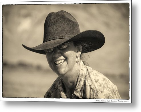 Metal Print featuring the photograph 8475 by Mary Williams Hyde