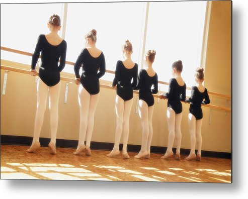 Group Metal Print featuring the photograph A Dance Class by Don Hammond