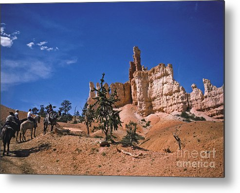 Bryce Metal Print featuring the photograph Bryce Canyon by Howard Stapleton