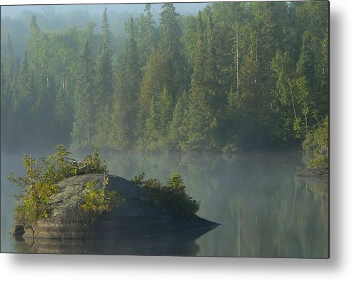Bwcaw Metal Print featuring the photograph Calm by Steve Schwarz