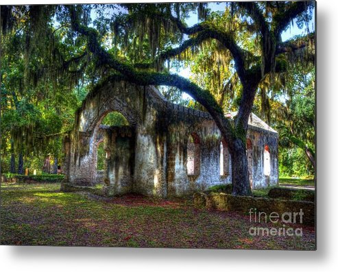 Chapel Of Ease Metal Print featuring the photograph Chapel Of Ease by Mel Steinhauer