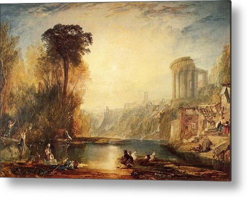 Turner Metal Print featuring the painting Composition Of Tivoli by Joseph William Mallord Turner