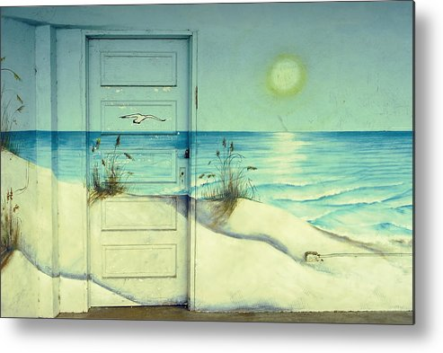 Architecture Metal Print featuring the photograph Door Of Perception by Skip Hunt