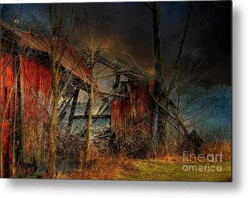 Dystopia Metal Print featuring the photograph End Times by Lois Bryan