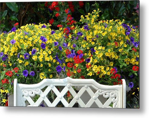 Flowers Metal Print featuring the photograph Flowers 53 by Joyce StJames